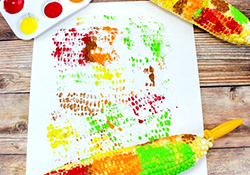 A-Maize-ing Corn Painting