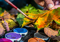 A Day Off with Nature: Autumn Art