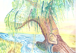 Virtual Artistic Expressions Watercolor Demonstration