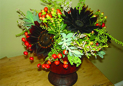 Virtual Floral Arranging with Supermarket Flowers for Thanksgiving