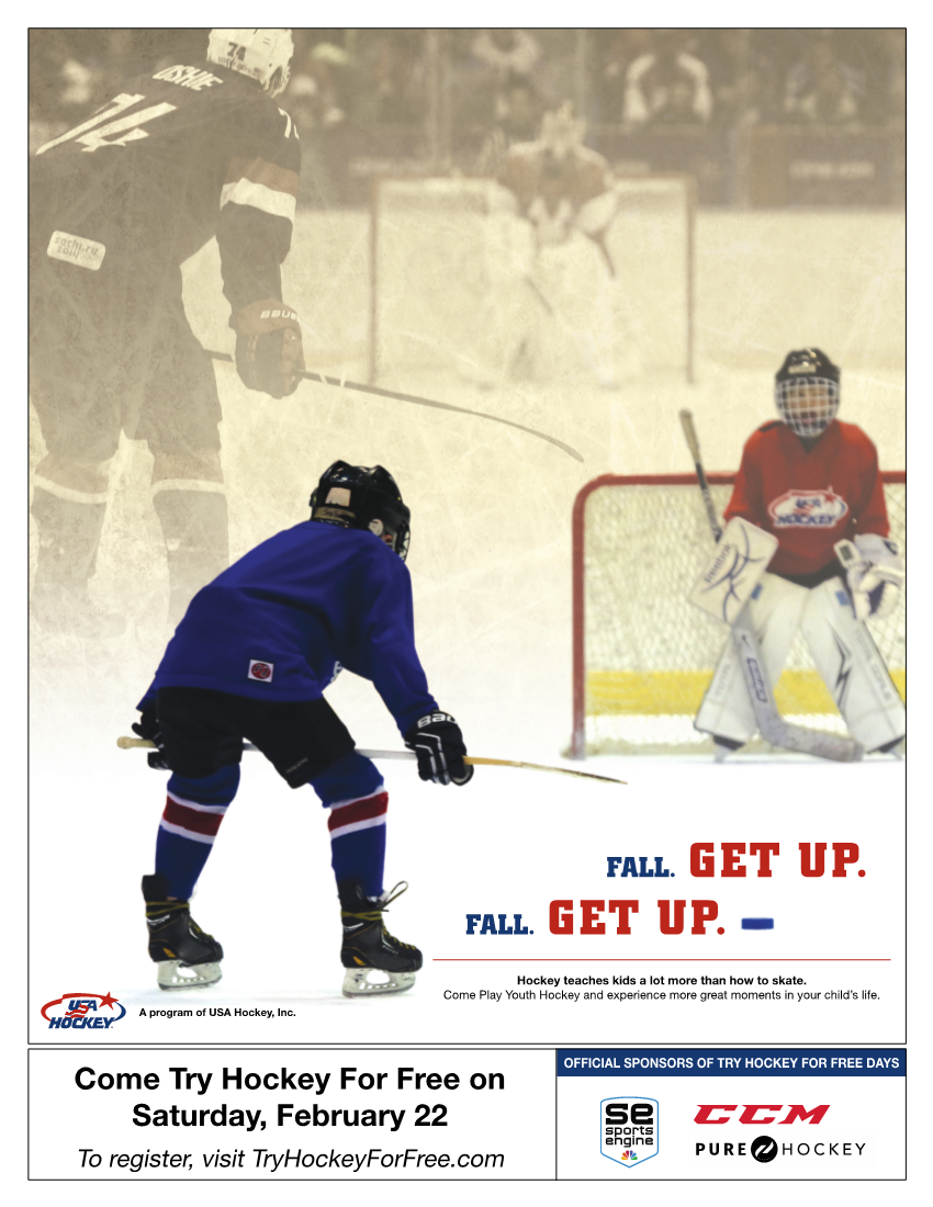 Try Hockey for Free Event at Mennen Sports Arena